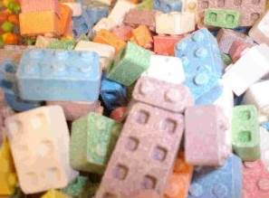 lego candy pieces